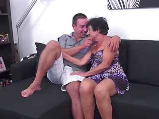 Sexy MILF Hanna D. gets rammed in a couple be advisable for different positions
