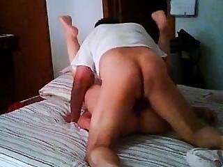 Brunette milf gaping ass drilled hardcore