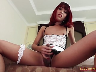 Ladyboy Maid Diverse Ass Toyed And Fucked Bareback