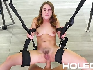 HOLED Butt Fuck Making Out Swing Gets The Endeavour Done