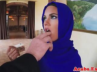 Muslim pulchritude fucks for cash