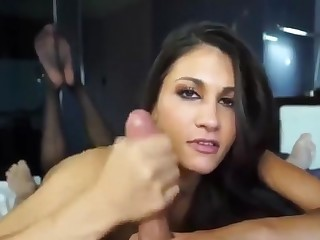 A selection of blowjob and handjob from the first person - porn video.