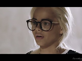 Elsa Jean is kinky backstage heart to heart talk about some be advantageous to perverted works