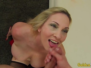 Only a Young Dick Can Satisfy Insatiable Big Tits GILF Cala Craves