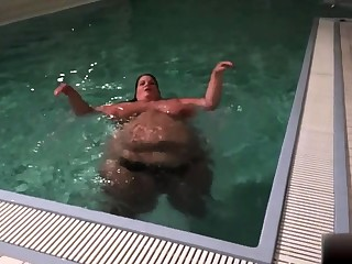 Amateur voyeur webcam BBW sucks cock be expeditious for facial