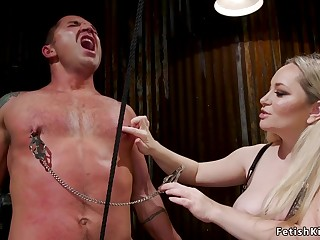 In recession male slave ass sexual connection fisting femdom