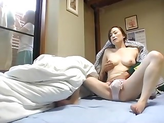 Asian dude fucks girlfriends mother