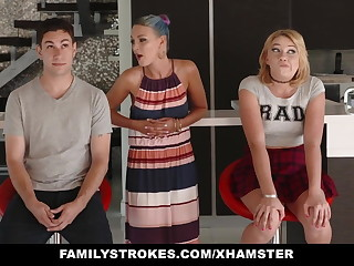 FamilyStrokes - Scavenger Hunting at hand sis turns lecherous