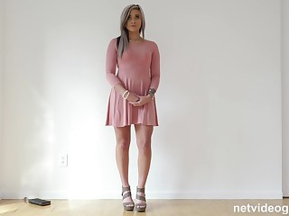 Bubble Butt 21 Year Old Seduced During Audition