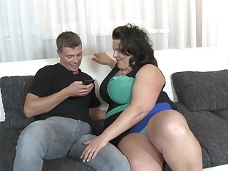 BBW Helina K needs about than one pecker to get self-satisfied