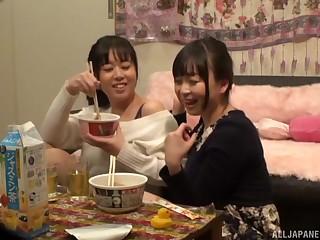 Tsukada Shiori decides to call her lesbian friend be advantageous to amazing fuck