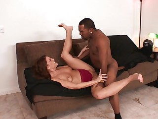 White cunt stretches out at hand a unselfish dick