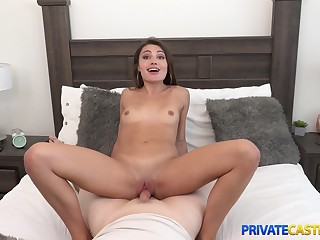 Private Casting X - Adria Rae - ager cock commuter fake audition