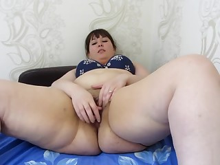 Fucks irritant and pussy bottle, young heavy woman less big asshole