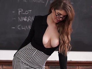 Beauty, Milf, Office, Teacher