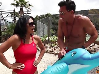 Hot latina old lady Cassandra Cruz hardcore porn video