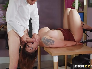 A really hot untrained fuck play with the new secretary