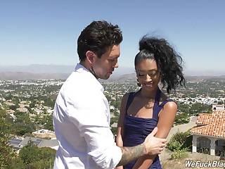 Latina teen Jada Ecumenical enjoying some steamy heyday be captivated by fro her lover