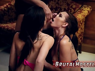 Advanced muscle girl and brutal gaging compilation xxx