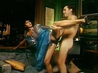 Hot italian pornstars in crazy retro movie