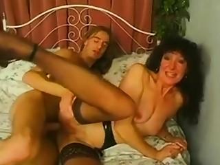 Mature slut anal and multiple facials.