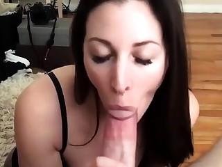 Amulet slut handjob and blowjob with tit fuck for whore